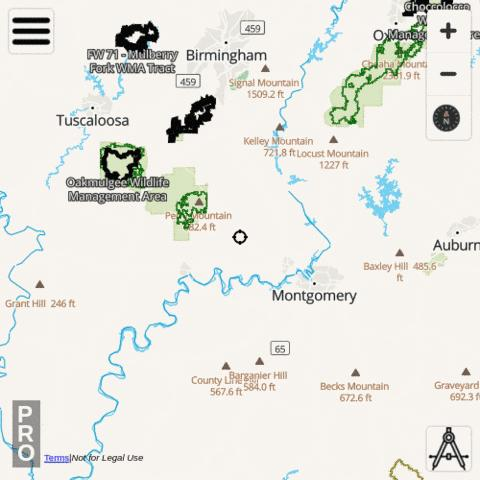 Alabama Hunting App
