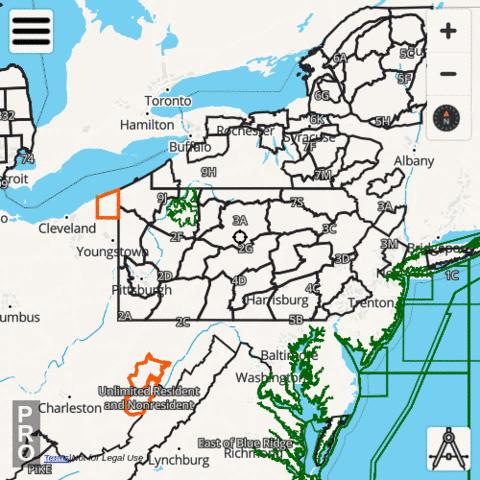 Pennsylvania Hunting App