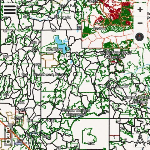 Utah Hunting App | hunting Topo Maps
